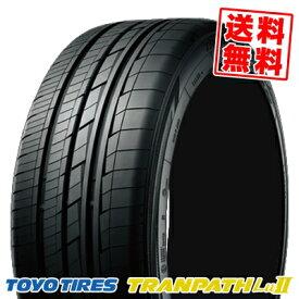 235/50R18 101W トーヨー タイヤ TRANPATH Lu2 TOYO TIRES トランパス Lu2 サマータイヤ 18インチ 単品 1本 価格 『2本以上ご注文で送料無料』