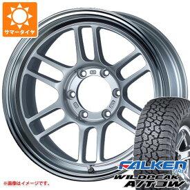 サマータイヤ 265/65R17 116S XL ファルケン ワイルドピーク A/T3W ENKEI エンケイ オールロード RPT1 8.5-17 タイヤホイール4本セット
