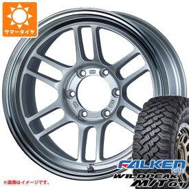 サマータイヤ 265/70R17 121/118Q ファルケン ワイルドピーク M/T01 ENKEI エンケイ オールロード RPT1 8.5-17 タイヤホイール4本セット