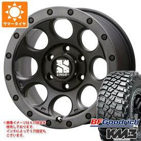 サマータイヤ 265/65R17 120/117Q BFグッドリッチ マッドテレーン T/A KM3 ブラックレター エクストリームJ XJ03 8.0-17 タイヤホイール4本セット