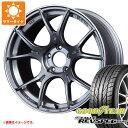 サマータイヤ 215/45R17 87W グッドイヤー イーグル レヴスペック RS-02 SSR GTX02 7.0-17 タイヤホイール4本セット