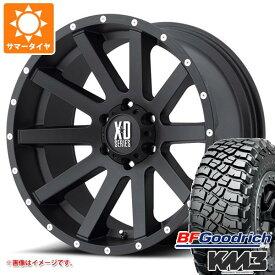 サマータイヤ 285/70R17 121/118Q BFグッドリッチ マッドテレーン T/A KM3 ブラックレター KMC XD818 ヘイスト 8.0-17 タイヤホイール4本セット