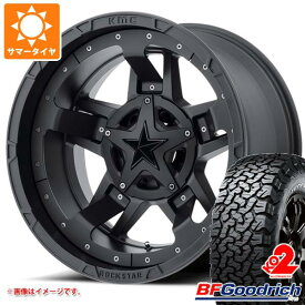 サマータイヤ 285/70R17 121/118R BFグッドリッチ オールテレーン T/A KO2 ホワイトレター KMC XD827 ロックスター3 8.0-17 タイヤホイール4本セット