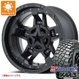 サマータイヤ 265/70R17 121/118Q BFグッドリッチ マッドテレーン T/A KM3 ブラックレター KMC XD827 ロックスター3 8.0-17 タイヤホイール4本セット