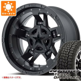 サマータイヤ 285/70R17 117S ニットー テラグラップラー KMC XD827 ロックスター3 8.0-17 タイヤホイール4本セット