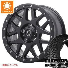 サマータイヤ 215/70R16 100T マッドスター ラジアル M/T ホワイトレター KMC XD127 バリー レネゲード専用 7.0-16 タイヤホイール4本セット