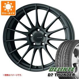 サマータイヤ 245/40R18 97W XL デリンテ D7 サンダー エンケイ レーシング レボリューション RS05RR 9.0-18 タイヤホイール4本セット