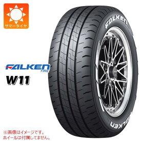 4本 ファルケン W11 215/60R17 109/107N ホワイトレター サマータイヤ FALKEN W11 【バン/トラック用】