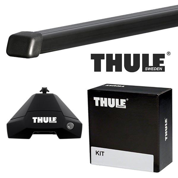 THULE スーリー フォルクスワーゲン ゴルフVII 5ドア AUC系 13〜 ルーフキャリア取付1台分セット TH7105+TH7123+TH5010セット