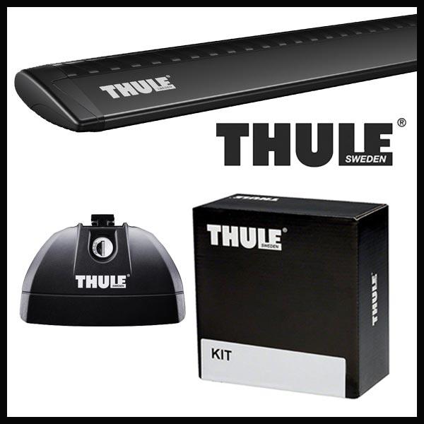 THULE スーリー スズキ エスクード ダイレクトレール付 YD125/YE125/YEA1S H29/10〜 ルーフキャリア取付セット TH753+TH961B+TH4040セット