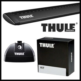 THULE スーリー マツダ CX-5 KE系 H24/2〜 ルーフキャリア取付1台分セット TH753+TH7112B+TH3069セット