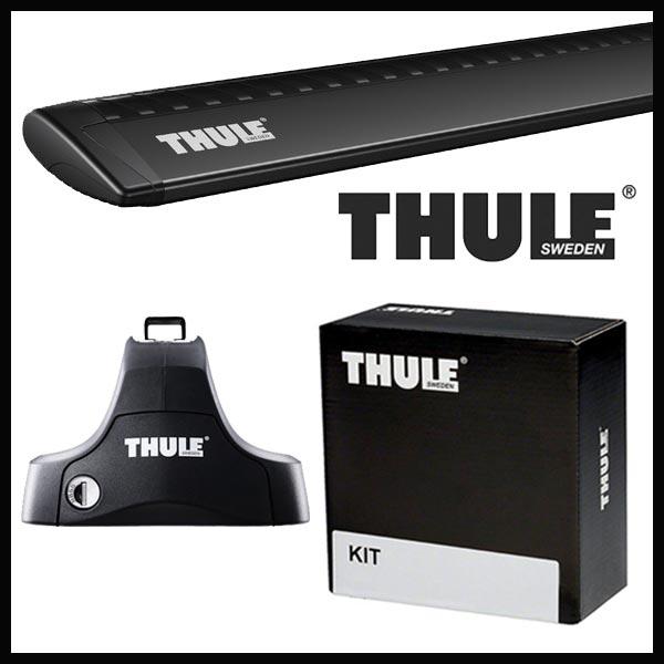 THULE スーリー フォルクスワーゲン ゴルフ ゴルフ4 3ドア 1J系 98〜03 ルーフキャリア取付1台分セット TH754+TH7112B+TH1050セット