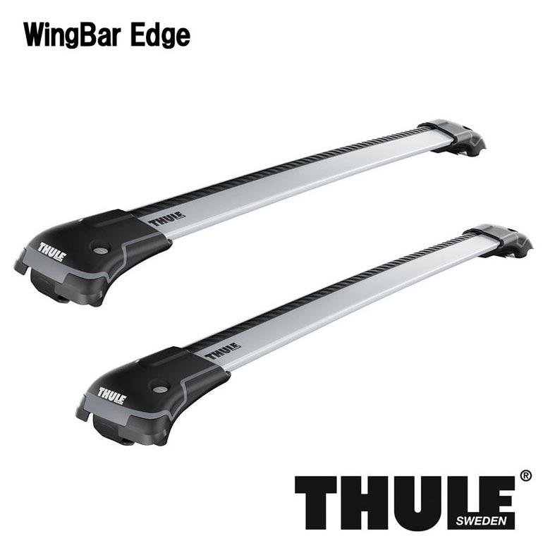 THULE スーリー サーブ 9-5 エステートルーフベース付 EB系系 98〜 ウィングバーエッジ TH9583