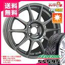 サマータイヤ 225/40R18 88W フェデラル SS595 & SSR GTX01 8.5-18 タイヤホイール4本セット