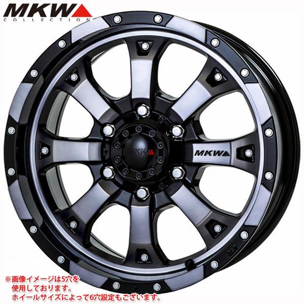 MKW MK-46 DGC 7.0-16 ホイール1本 MK-46 Diacut GraphiteClear