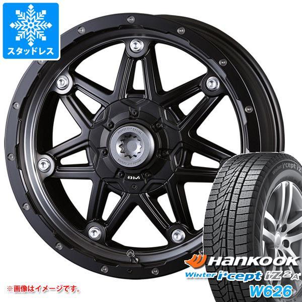 スタッドレスタイヤ ハンコック ウィンターアイセプト IZ2エース W626 215/65R16 102T XL & クリムソン MG ライカン 7.0-16 タイヤホイール4本セット 215/65-16 HANKOOK Winter i cept IZ2A W626