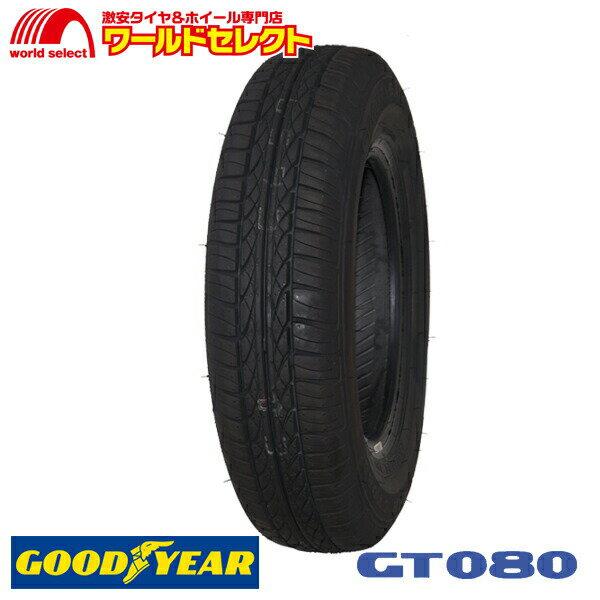4本セット 新品タイヤ GT080 145/80R12 145/80-12 12インチ グッドイヤー GOODYEAR サマータイヤ