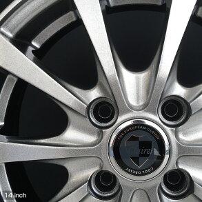 軽乗用車155/65R1475QブリザックVRXホイール:クレールRG1014×4.5PCD100/4H+4514インチメタリックダークグレースタッドレスホイールセット4本