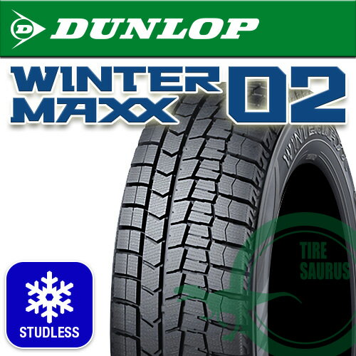 【要メーカー取寄】 ダンロップ ウインターマックス WM02 195/45R16 80Q [DUNLOP][WINTERMAXX][スタッドレスタイヤ] 注)タイヤ1本あたりのお値段です