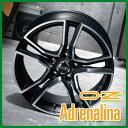 【ホイール1枚】 OZ XLINE ADRENALINA 15×6.0J PCD108/5H +40 カラー:マットブラックポリッシュ [アドレナリーナ]