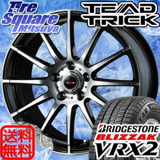 ブリヂストン ブリザック VRX2 新商品 195/65R15WEDS TEAD TRICK 15 X 6 +52 5穴 114.3