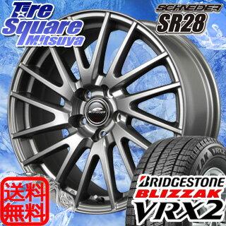 ブリヂストン ブリザック VRX2 新商品 185/60R15MANARAY SCHNEIDER SR28 15 X 6 +45 5穴 100