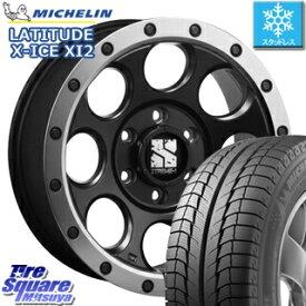 ミシュラン LATITUDE X-ICE XI2 XICE ラチチュード エックスアイス スタッドレスタイヤ 正規品 265/60R18 MLJ エクストリームJ XJ03 XTREME-J ホイールセット 4本 18インチ 18 X 8(US) +20 6穴 139.7