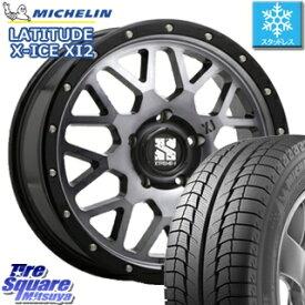 ミシュラン LATITUDE X-ICE XI2 ラチチュード エックスアイス スタッドレス スタッドレスタイヤ 225/70R16 MLJ XTREME-J エクストリームJ XJ04 ホイールセット 4本 16インチ 16 X 7 +35 5穴 114.3