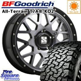 BF Goodrich グッドリッチ オールテレーン TA T/A KO2 在庫 ホワイトレター サマータイヤ 225/70R16 MLJ XTREME-J エクストリームJ XJ04 ホイールセット 4本 16インチ 16 X 7 +35 5穴 114.3