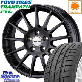 TOYOTIRES トーヨー トランパス ML ミニバン TRANPATH サマータイヤ 205/60R16 WEDS ウェッズ IRVINE ホイールセット 4本 16インチ 16 X 7(BMW14125) +31 5穴 120