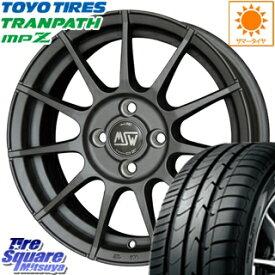 TOYOTIRES トーヨー トランパス MPZ ミニバン TRANPATH サマータイヤ 175/65R14 MSW by OZ MSW85 ホイールセット 4本 14インチ 14 X 6 +35 4穴 98