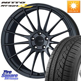 【8/20はお盆明け初売りセール】 CX-5 CR-V RAV4 ENKEI エンケイ Racing Revolution RS05RR ホイールセット 20 X 8.5J +45 5穴 114.3NITTO ニットー NT421Q サマータイヤ 245/45R20