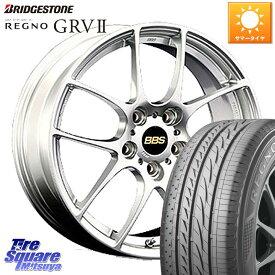 WRX S4 レヴォーグ MAZDA3 プリウスα BBS RF 鍛造1ピース ホイールセット 17インチ 17 X 7.0J +48 5穴 114.3 ブリヂストン REGNO レグノ GRV2 GR-V2 限定特価 サマータイヤ 215/50R17