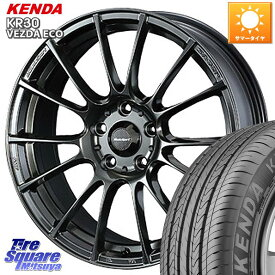 WRX S4 レヴォーグ MAZDA3 プリウスα WEDS 72682 SA-72R ウェッズ スポーツ ホイールセット 17インチ 17 X 7.0J +48 5穴 114.3 KENDA ケンダ VEZDA ECO KR30 サマータイヤ 215/50R17