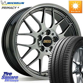 WRX S4 レヴォーグ MAZDA3 BBS RG-R 鍛造1ピース ホイールセット 17インチ 17 X 7.5J +48 5穴 114.3 ミシュラン PRIMACY4 プライマシー4 XL 正規品 市販品 在庫 サマータイヤ 215/50R17