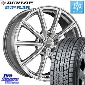 DUNLOP WINTER MAXX SJ-8 ウィンターマックス ダンロップ スタッドレスタイヤ 215/70R16 ブリヂストン ECOFORM エコフォルム SE-15 SE15 ホイールセット 16インチ 16 X 6.5J +46 5穴 100