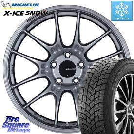 アコード ミシュラン X-ICE SNOW エックスアイススノー XICE SNOWスタッドレス 正規品 235/45R18 ENKEI エンケイ RACING GTC02 ホイール セット 18インチ 18 X 7.5J +48 5穴 114.3