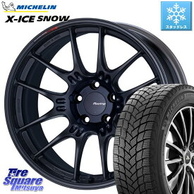 ミシュラン X-ICE SNOW エックスアイススノー XICE SNOWスタッドレス 正規品 225/50R18 ENKEI エンケイ RACING GTC02 ホイール セット 18インチ 18 X 7.5J(MINI) +48 5穴 112