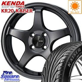 【7月5日は最大31倍】 フィールダー ロードスター ENKEI エンケイ PerformanceLine PF05 ホイールセット 17インチ 17 X 7.0J +45 4穴 100KENDA ケンダ KAISER KR20 限定 サマータイヤ 215/45R17