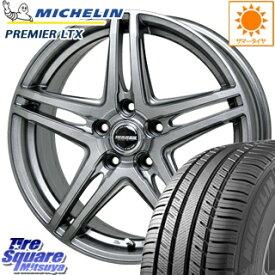 ミシュラン Premier LTX プレミア 正規品 サマータイヤ 215/65R16 HotStuff WAREN ヴァーレン W04 4本 ホイールセット 16インチ 16 X 6 +42 5穴 100