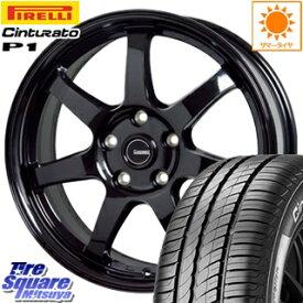 ピレリ Cinturato P1 チンチュラート P1 (数量限定特価) サマータイヤ 225/60R17 HotStuff G-SPEED G-03 ブラック ホイールセット 4本 17インチ 17 X 7 +48 5穴 114.3