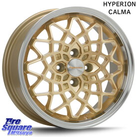 WINRUN WINRUN R330 サマータイヤ 165/55R15 MLJ hyperion CALMA ハイペリオン カルマ 15 X 5.0J +45 4穴 100