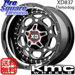 MAXXIS MT-762 BIGHORN ブラックウォール 325/60R20 KMC XD837 Demodog ホイールセット 4本 20インチ JK ラングラー 20 X 9 +0 5穴 127