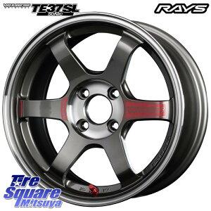 プロボックス サクシード ロードスター デミオ ノート RAYS レイズ TE37 ボルクレーシング SONIC SL ホイール セット 16インチ 16 X 6.5J +37 4穴 100 ホイールのみ 4本価格