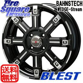 【6/10は最大P45倍】 BLEST BAHNS TECH WEDGE-Stream ホイールセット 15インチ 15 X 5.0J +45 4穴 100WINRUN WINRUN R330 サマータイヤ 165/55R15