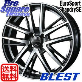 【7/10は最大31倍】 フィールダー ロードスター アクア BLEST Eurosport Shandry SE ホイールセット 17インチ 17 X 6.5J +42 4穴 100WINRUN WINRUN R330 サマータイヤ 195/45R17