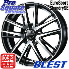 【7月15日はエントリーで最大P21倍】 CR-Z エルグランド ヴェゼル エスクァイア BLEST Eurosport Shandry SE ホイールセット 18インチ 18 X 7.0J +53 5穴 114.3 ホイールのみ 4本価格