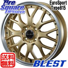 【6/10は最大P45倍】 BLEST Eurosport Type815 ホイールセット 15インチ 15 X 5.0J +45 4穴 100WINRUN WINRUN R330 サマータイヤ 165/55R15