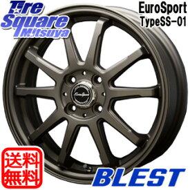 【6/10は最大P45倍】 BLEST Eurosport TypeSS-01 ホイールセット 15インチ 15 X 5.0J +45 4穴 100WINRUN WINRUN R330 サマータイヤ 165/55R15