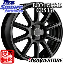 【7/5は最大31倍】 フィールダー ロードスター フィット ブリヂストン ECOFORM エコフォルム CRS131 ホイールセット 16インチ 16 X 6.5J +43 4穴 100グッドイヤー レブスペック REVSPEC RS-02 サマータイヤ 195/50R16